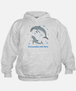 Personalized Dolphin Hoodie