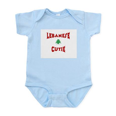 "Infant Creeper-""Lebanese Cutie"""