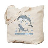 Dolphins Canvas Bags