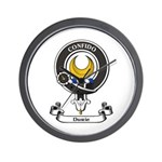 Badge - Durie Wall Clock