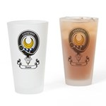 Badge - Durie Drinking Glass