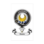 Badge - Durie Sticker (Rectangle 50 pk)