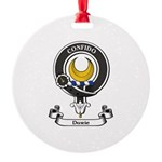 Badge - Durie Round Ornament