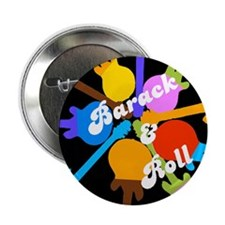 "Barack & Roll 2.25"" Button (10 pack)"