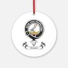 Badge - Dewar Ornament (Round)