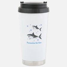 Personalized Shark Travel Mug