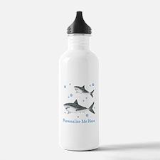 Personalized Shark Water Bottle