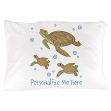 Personalized Sea Turtles Pillow Case