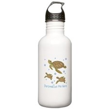 Personalized Sea Turtles Water Bottle