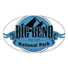 big bend 5 Decal