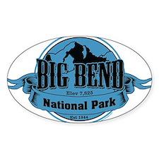 big bend 3 Decal