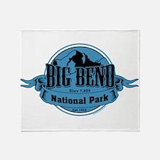 big bend 3 Throw Blanket