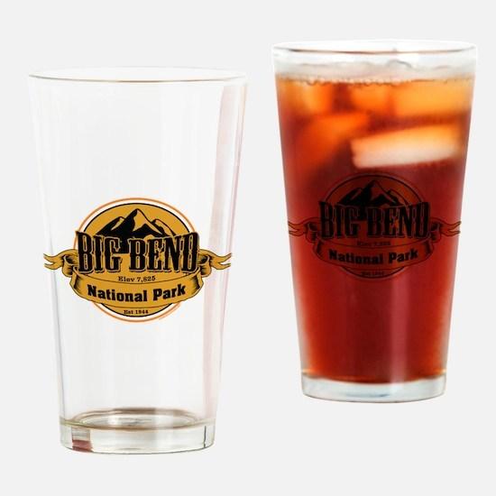 big bend 4 Drinking Glass