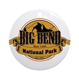Big bend Round Ornaments