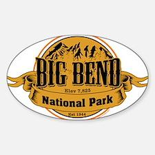 big bend 2 Decal
