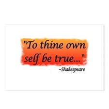 Hamlet: To Thine Own Self be Postcards (Package o