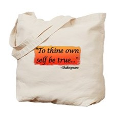 Hamlet: To Thine Own Self be Tote Bag