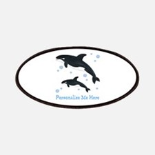 Personalized Killer Whale Patches