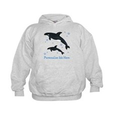 Personalized Killer Whale Hoodie