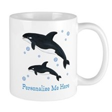Personalized Killer Whale Mug