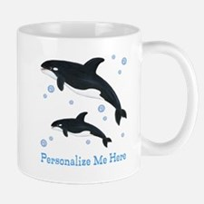 Personalized Killer Whale Mug