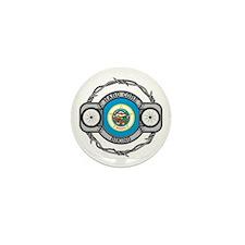 Minnesota Biking Mini Button