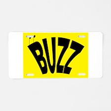 Cute Bumble bee Aluminum License Plate