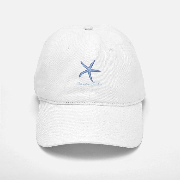 Personalized Starfish Baseball Baseball Cap