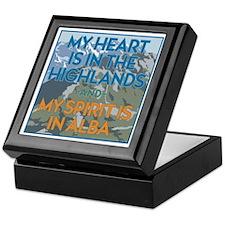 My Heart Keepsake Box