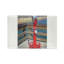 Balboa Pier Rectangle Magnet