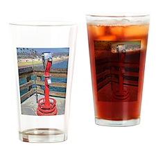 Balboa Pier Drinking Glass
