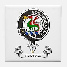 Badge - Crichton Tile Coaster