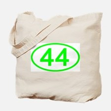Number 44 Oval Tote Bag