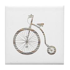 Biclycle Tile Coaster
