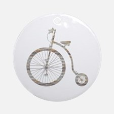 Biclycle Ornament (Round)