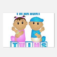 I'm An Aunt (TBG:blk) Postcards (Package of 8)