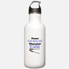 Custom Rowing Obsession Water Bottle