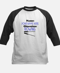 Custom Rowing Obsession Baseball Jersey
