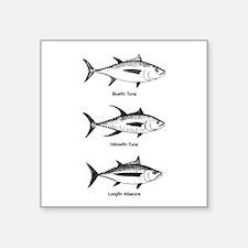 Tuna Species Logo Sticker