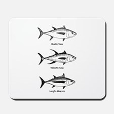 Tuna Species Logo Mousepad