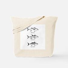 Tuna Species Logo Tote Bag