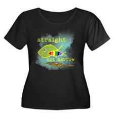 Straight But Not Narrow Plus Size T-Shirt