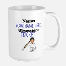 Custom Cricket Obsession Mug