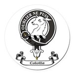 Badge - Colville Round Car Magnet