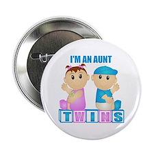 I'm An Aunt (PBG:blk) Button
