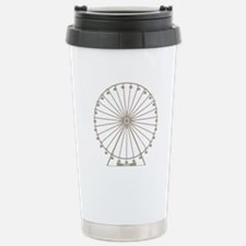 Ferris Wheel Stainless Steel Travel Mug