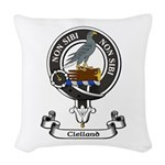 Badge - Clelland Woven Throw Pillow