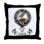 Badge - Clelland Throw Pillow