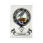 Badge - Clelland Rectangle Magnet (100 pack)