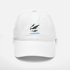 Personalized Humpback Whale Baseball Baseball Cap